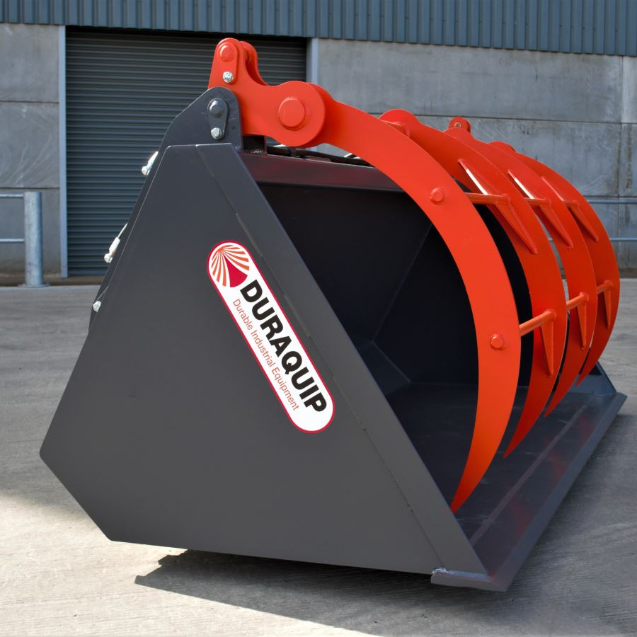 Waste Handling Grapple Bucket